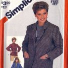 Simplicity 5664 Misses Unlined Jacket Sewing Pattern Size 14