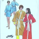 Simplicity 5685 Mens Kimono Wrap Robe 70s Sewing Pattern Size Medium