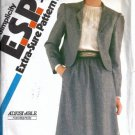 Misses Skirt, Jacket Vtg Sewing Pattern Simplicity 5693 Size 12, 14, 16