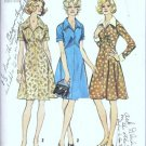 Simplicity 5914 Misses Dress 70s Vintage Sewing Pattern Size 16 1/2