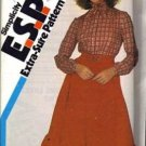 Simplicity 6022 Misses Skirt, Blouse Sewing Pattern Size 14, 16, 18