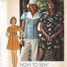 Simplicity 6220 Misses Mini Dress, Top, Panties Sewing Pattern Size 14