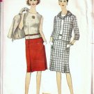 Simplicity 6359 Misses Jacket, Skirt, Top 60s Sewing Pattern Size 12