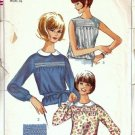 Simplicity 6367 Misses Blouse 60s Vintage Sewing Pattern Size 10