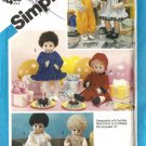 Simplicity 6481 Baby Doll Clothes Vintage Sewing Pattern Tiny Tears