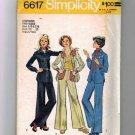 Teen Girl Shirt Jacket, Pants Sewing Pattern Simplicity 6617 Sz 5/6, 7/8