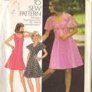 Simplicity 6798 Misses 1970s Dress, Jacket Sewing Pattern Size 14