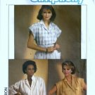 Simplicity 6804 Misses Shirt, Blouse Sewing Pattern Size 10, 12