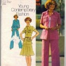Simplicity 6843 Misses Sewing Pattern Shirt Jacket, Skirt, Pants Sz 10