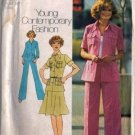Simplicity 6843 Misses Sewing Pattern Shirt Jacket, Skirt, Pants Sz 12