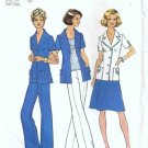 Misses Jacket Skirt Pants Sewing Pattern Simplicity 6936 Half Size 18, 20