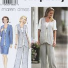 Simplicicty 7041 Misses Top Pants Skirt Sewing Pattern Size 8, 10, 12
