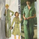 Simplicity 7046 Misses Shirt Jacket, Pants, Skirt Sewing Pattern Sz 12