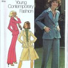 Simplicity 7129 Misses Jacket, Pantskirt, Pants Sewing Pattern Size 12