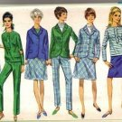 Simplicity 7191 Misses Jacket, Top, Skirt, Pants Sewing Pattern Sz 13