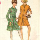 Simplicity 7244 Misses 60s Pantdress Vintage Sewing Pattern Size 14