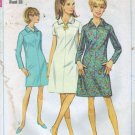 Misses 60s Dress Vintage Sewing Pattern Simplicity 7289 Size 13
