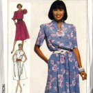Simplicity 7446 Misses 80s Casual Dress Sewing Pattern Size 16