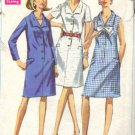 Simplicity 7449 Misses 60s Dress Sewing Pattern Size 14 1/2