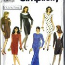 Simplicity 7497 Misses Slim Dress Sewing Pattern Size 8, 10, 12, 14