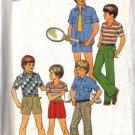 Simplicity 7513 Boys 70s Shirts, Pants, Shorts Sewing Pattern Size 12