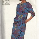 Simplicity 7710 Misses Top Skirt Vintage Sewing Pattern Size 8, 10, 12