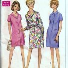 Simplicity 7729 Misses Coat Dress Vintage Sewing Pattern Half Size 16