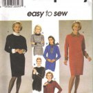 Simplicity 7755 90s Misses Shift Dress Sewing Pattern Size 12, 14, 16