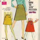 Simplicity 7779 Misses 60s Skirt Sewing Pattern Size 14