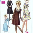 Simplicity 7791 Misses Aline Dress 60s Sewing Pattern Size 10 Uncut