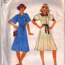 Simplicity 7845 Misses 70s Dress Vintage Sewing Pattern Size 8