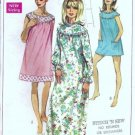 Simplicity 7910 Misses Nightgown Bloomers Vtg Sewing Pattern Sz Large