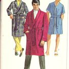 Simplicity 7935 Mens Robe Vintage Sewing Pattern Size Small