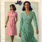 Simplicity 7960 Misses 70s Jiffy Dress Vintage Sewing Pattern Size 10