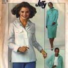 Simplicity 7961 Misses 70s Shirt Jacket, Skirt Sewing Pattern Size 10