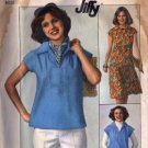 Simplicity 7963 Misses 70s Top, Skirt Sewing Pattern Size 10