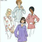 Simplicity 8098 Misses Tops Vintage Sewing Pattern Size 18 1/2, 20 1/2