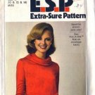 Simplicity 8188 Misses 70s Cowl Dress Sewing Pattern Size 10, 12, 14