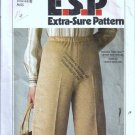 Simplicity 8185 Misses Pull On Pants Vintage Sewing Pattern Size 14, 16