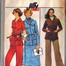 Simplicity 8191 Misses Pants Skirt Shirt Jacket Sewing Pattern Size 10