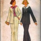Simplicity 8199 Misses Jacket, Pants, Blouse Sewing Pattern Size 10