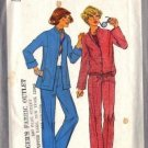 Simplicity 8200 Misses 70s Jacket Pants Vintage Sewing Pattern Size 10