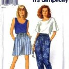 Simplicity 8254 Misses Pants, Shorts, Tops Sewing Pattern Size 10-20