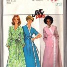 Simplicity 8274 Misses 70s Wrap Robe Vintage Sewing Pattern Size 6, 8