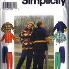 Simplicity 8322 Mens, Misses Jacket, Pants Sewing Pattern Size L, XL