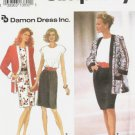 Simplicity 8346 Misses Dress, Jacket Sewing Pattern Sz 18, 20, 22, 24