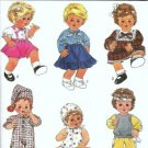 Simplicity 8376 Baby Doll Clothes Sewing Pattern Medium 15, 16 Inches