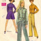 Simplicity 8400 Misses Pantskirt, Shirt, Pants Sewing Pattern Size 16