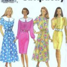 Simplicity 8415 Misses Flared, Slim Dress Sewing Pattern Size 6, 8, 10