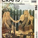 McCall's 5928 Rabbit Doll, Clothes Vintage Sewing Pattern 27 Inch